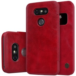 Чехол Nillkin Qin Leather Case для LG G5 H850 Red (красный)