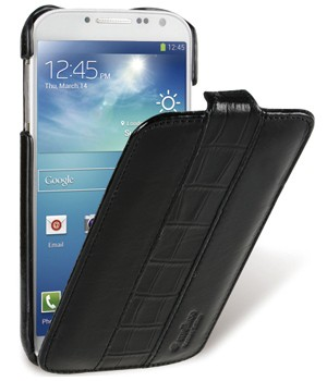 Чехол Melkco для Samsung Galaxy Mega 5.8 Vintage Black/Crocodile