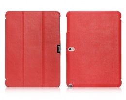 Чехол iCarer Leather Case для Samsung Galaxy Note 10.1 P601/605 Red
