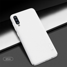 Накладка Nillkin Frosted Shield пластиковая для Samsung Galaxy A70 (2019) SM-A705 White (белая)