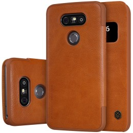Чехол Nillkin Qin Leather Case для LG G5 H850 Brown (коричневый)