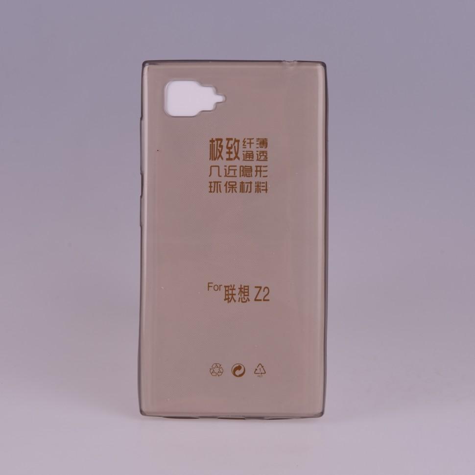 Накладка силиконовая для Lenovo Vibe Z2 (Vibe Z2 Pro mini/K920 mini) прозрачно-черная