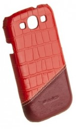 Накладка Melkco для Samsung Galaxy S3 i9300 Red Crocodile/Red