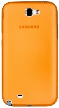 Накладка супертонкая для Samsung Galaxy Note 2 N7100 оранжевая