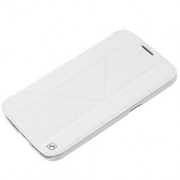 Чехол HOCO Crystal Leather Case для Samsung Galaxy Mega 6.3 i9200/9205 White