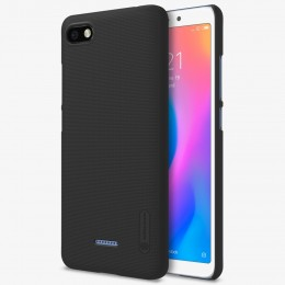 Накладка Nillkin Frosted Shield пластиковая для Xiaomi Redmi 6A Black (черная)
