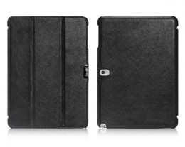 Чехол iCarer Leather Case для Samsung Galaxy Note 10.1 P601/605 Black