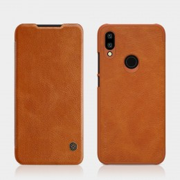 Чехол Nillkin Qin Leather Case для Xiaomi Redmi 7 Brown (коричневый)