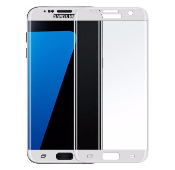 Защитное стекло для Samsung Galaxy S7 Edge G935 белое