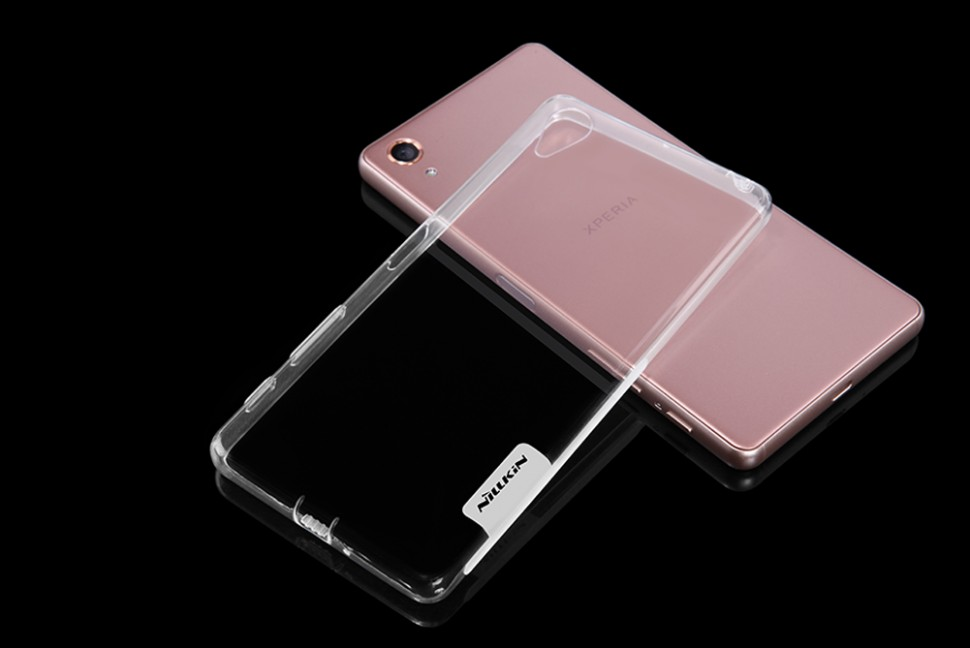 Накладка Nillkin Nature TPU Case силиконовая для Sony Xperia X Perfomance прозрачная