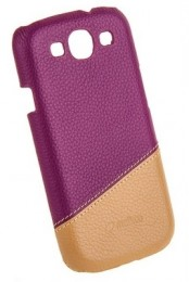 Накладка Melkco для Samsung Galaxy S3 i9300 Purple/Khaki