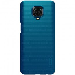 Накладка Nillkin Frosted Shield пластиковая для Xiaomi Redmi Note 9S / 9 Pro / 9 Pro Max Green (зеленая)