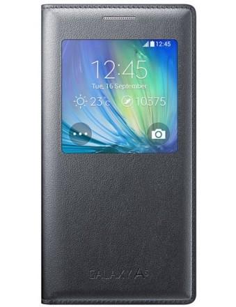 Чехол Flip Cover S-View для Samsung Galaxy A7 A700 EF-CA700BCEGRU черный