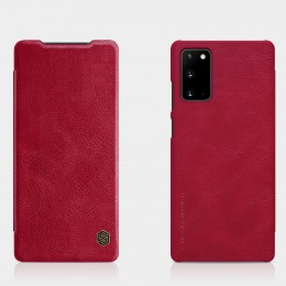 Чехол Nillkin Qin Leather Case для Samsung Galaxy Note 20 N980 Red (красный)