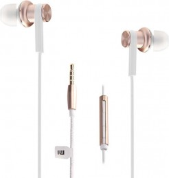 Наушники Xiaomi Hybrid Dual Drivers Earphones (Piston 4) золотистые