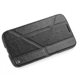 Чехол HOCO Crystal Leather Case для Samsung Galaxy Mega 6.3 i9200/9205 Black