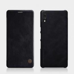 Чехол Nillkin Qin Leather Case для Sony Xperia L3 Black (черный)