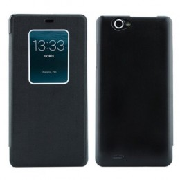 Чехол Flip Cover Window View для THL 5000 Black