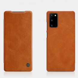 Чехол Nillkin Qin Leather Case для Samsung Galaxy Note 20 N980 Brown (коричневый)
