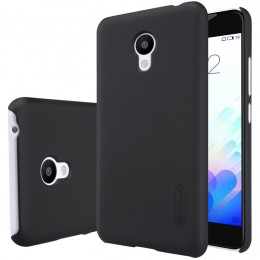 Накладка Nillkin Frosted Shield пластиковая для Meizu M3s/M3 mini Black (черная)