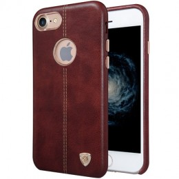 Накладка Nillkin Englon Leather Cover для iPhone 7 коричневая