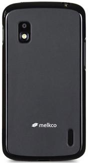 Силиконовая накладка Melkco для LG NEXUS 4 E960 черная