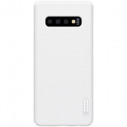 Накладка Nillkin Frosted Shield пластиковая для Samsung Galaxy S10 SM-G973 White (белая)