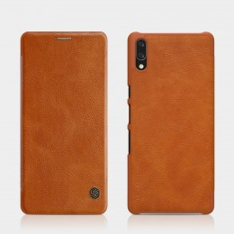 Чехол Nillkin Qin Leather Case для Sony Xperia L3 Brown (коричневый)