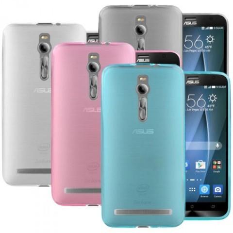 Накладка силиконовая для ASUS Zenfone 2 ZE551ML / ZE550ML голубая