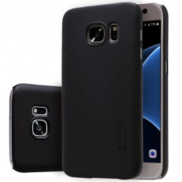 Накладка Nillkin Frosted Shield пластиковая для Samsung Galaxy S7 SM-G930 черная