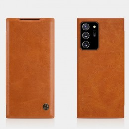 Чехол Nillkin Qin Leather Case для Samsung Galaxy Note 20 Ultra N985 Brown (коричневый)