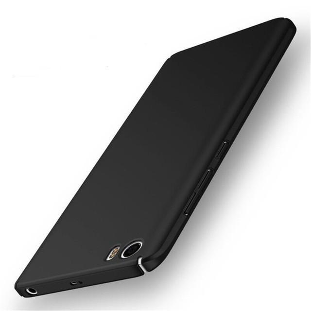 """Накладка пластиковая для Xiaomi Mi5S (5.15"""") черная"""