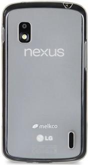 Силиконовая накладка Melkco для LG NEXUS 4 E960 прозрачный