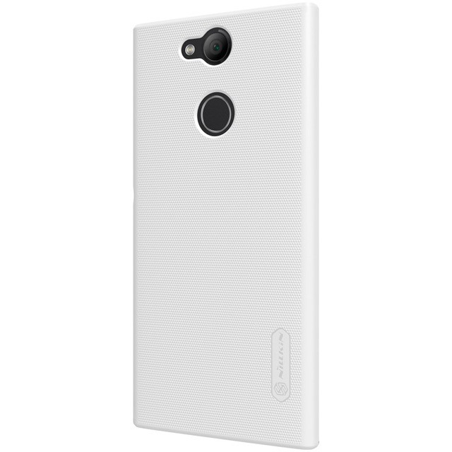 Накладка Nillkin Frosted Shield пластиковая для Sony Xperia L2 White (белая)