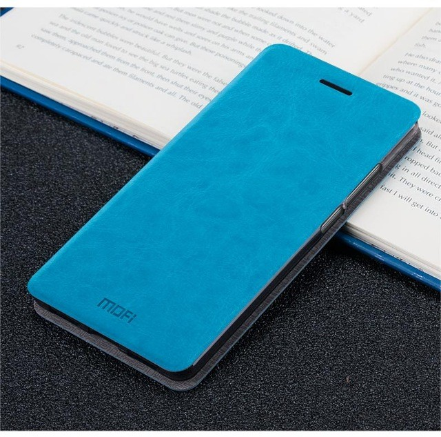 Чехол Mofi для Xiaomi Redmi Note 5 / Note 5 Pro Light Blue (голубой)