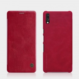 Чехол Nillkin Qin Leather Case для Sony Xperia L3 Red (красный)