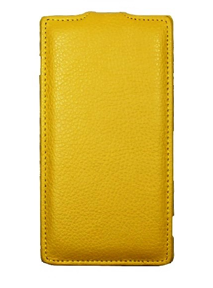 Чехол для LG G3s желтый