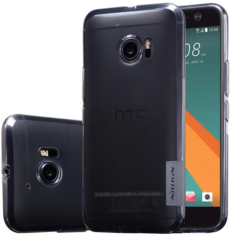 Накладка Nillkin Nature TPU Case силиконовая для HTC One 10 (M10) прозрачно-черная