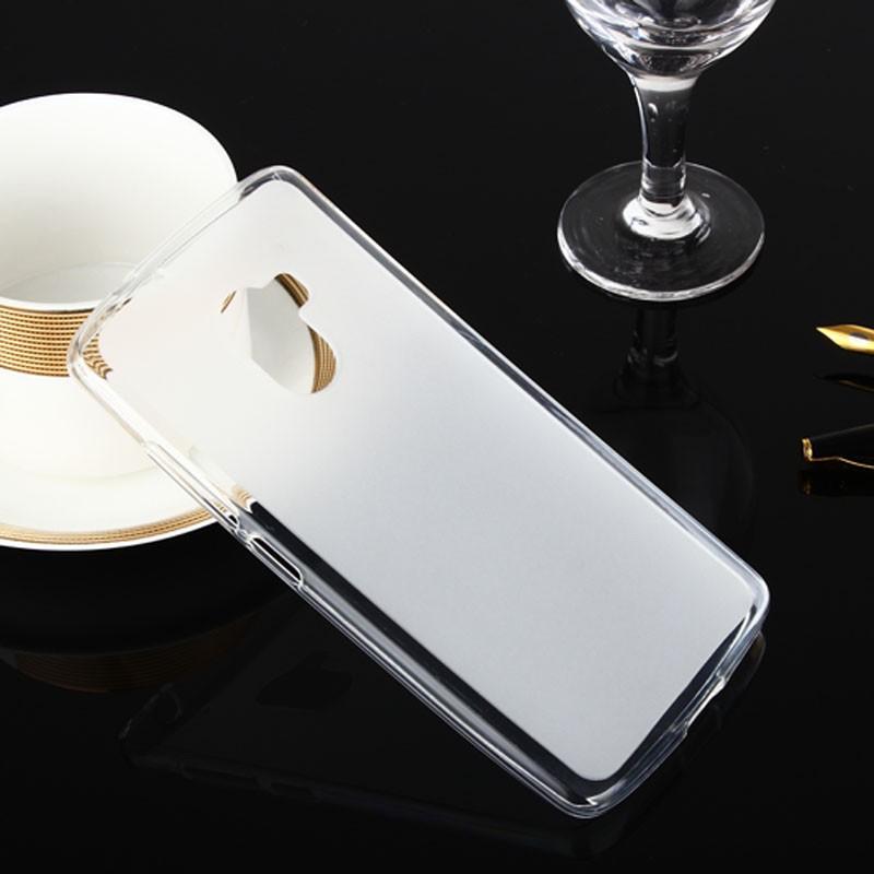 Накладка KissWill силиконовая для Lenovo K4 Note (A7010/X3 lite) прозрачно-белая