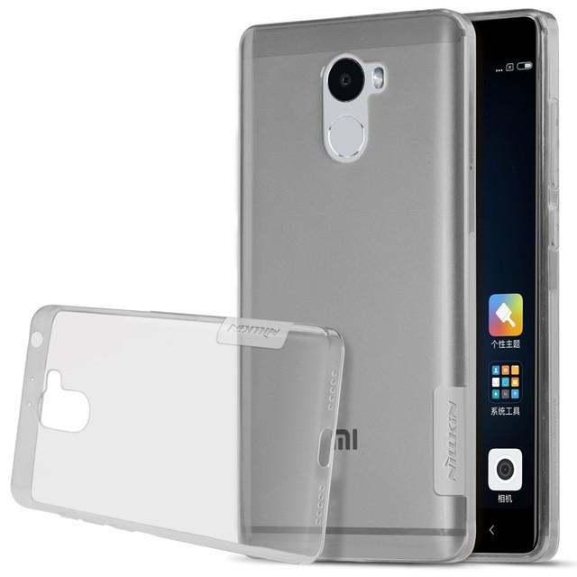 Накладка Nillkin Nature TPU Case силиконовая для Xiaomi Redmi 4 (16Gb) прозрачно-черная