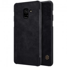 Чехол Nillkin Qin Leather Case для Samsung Galaxy A8 Plus (2018) A730 (A7 2018) Black (черный)