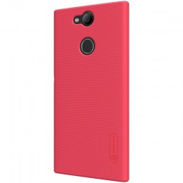 Накладка Nillkin Frosted Shield пластиковая для Sony Xperia L2 Red (красная)