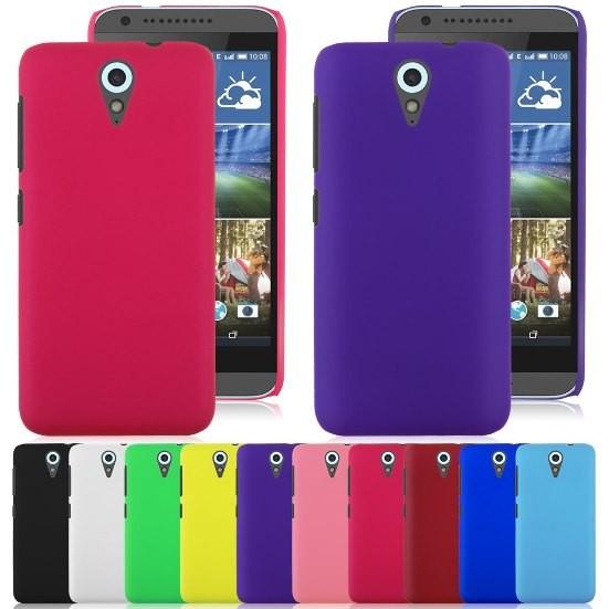 Накладка силиконовая для HTC Desire 610 желтая