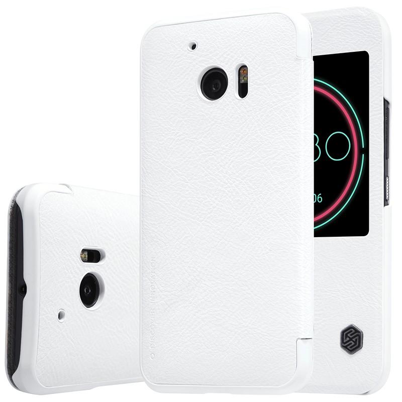 Чехол Nillkin Qin Leather Case для HTC One 10 (M10) White (белый)