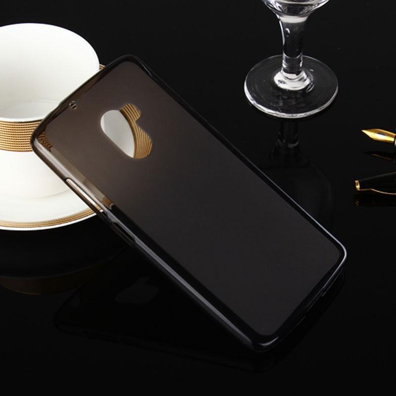Накладка KissWill силиконовая для Lenovo K4 Note (A7010/X3 lite) прозрачно-черная