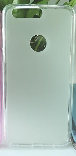 Накладка KissWill силиконовая для Huawei Honor 8 прозрачно-белая