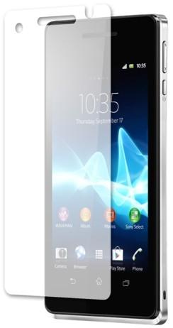 Пленка защитная для Sony Xperia V LT25i глянцевая
