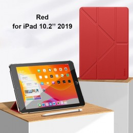 "Чехол Baseus Jane Y-Type для iPad 10.2"" (2019) Red (красный)"