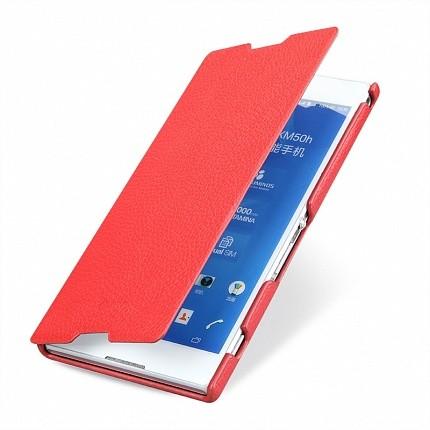 Чехол Sipo для Sony Xperia T2 Ultra Book Type Red (красный)