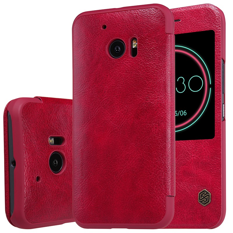 Чехол Nillkin Qin Leather Case для HTC One 10 (M10) Red (красный)